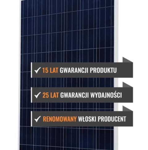 Parametry techniczne polikrystalicznego panelu fotowoltaicznego EXE SOLAR X-LINE 285W